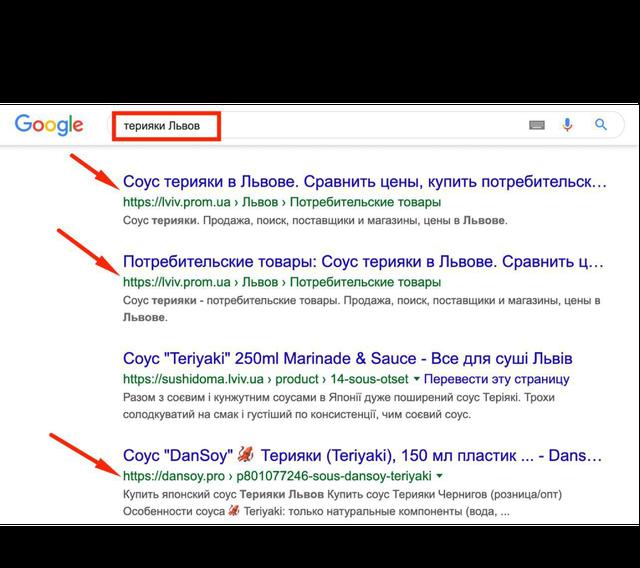 продвижение сайта в украине