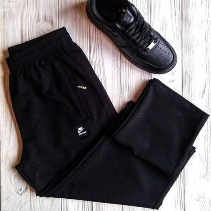 Штаны мужские спортивные Nike AirMax Чёрный цвет, фото 2