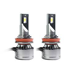 Світлодіодні LED лампи MLux Orange Line H11 (H8, H9), 28 Вт, 4300°До