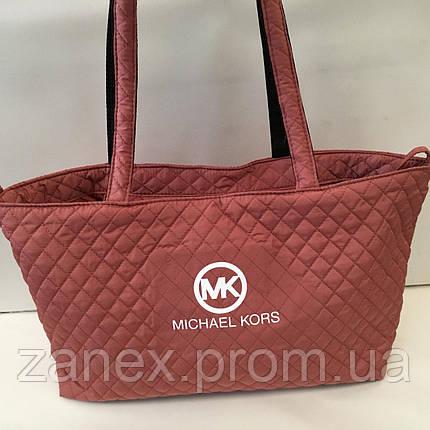 Женская сумка стеганая (терракотовый) Michael Kors, фото 2