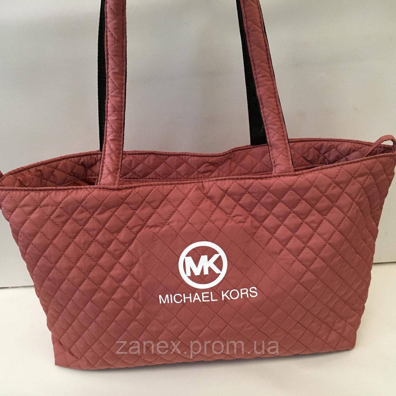 Женская сумка стеганая (терракотовый) Michael Kors