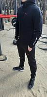 Спортивный костюм зимний мужской Puma BMW Motorsport grey-black