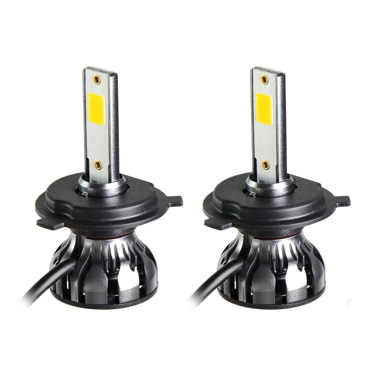 Светодиодные LED лампы MLux Grey Line H4/9003/HB2 BI, 26 Вт, 5000°К