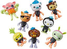Октонавты набор фигурок Fisher-Price Octonauts Octo Glow Crew Pack