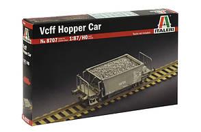 Vcff Hopper Car. Сборная модель грузового вагона. 1/87 ITALERI 8707