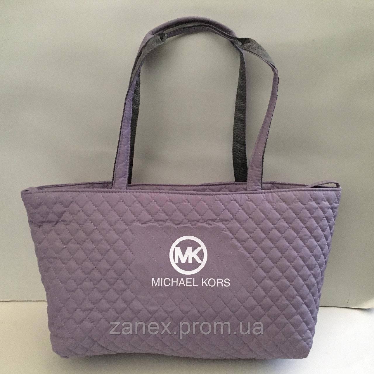Женская сумка стеганая (лиловый) Michael Kors