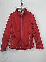Кофта ветровка детская Германия, цвет красный, размер на 10  лет