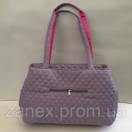 Женская сумка стеганая (лиловая) Michael Kors, фото 2