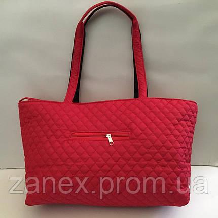 Женская сумка стеганая (красная) Michael Kors, фото 2