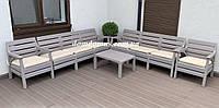 """Комплект садовой мебели """"Hawaii Set"""" Irak Plastik, Турция (стол, 2 кресла, софа 3-х местная)"""