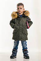 Детская зимняя куртка Olymp Аляска Khaki, фото 1