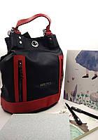 Рюкзак жіночий, т. синий, экокожа Арт.9135 Angel Polo Туреччина (Вместительная и практичная женская сумка-рюкзак, т.синий, экокожа.)