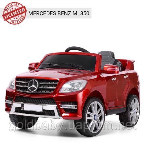 Детский электромобиль M 3568EBLRS-3 Mercedes ML 350, красный, фото 1