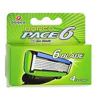 Сменные кассеты DORCO PACE 6, фото 1
