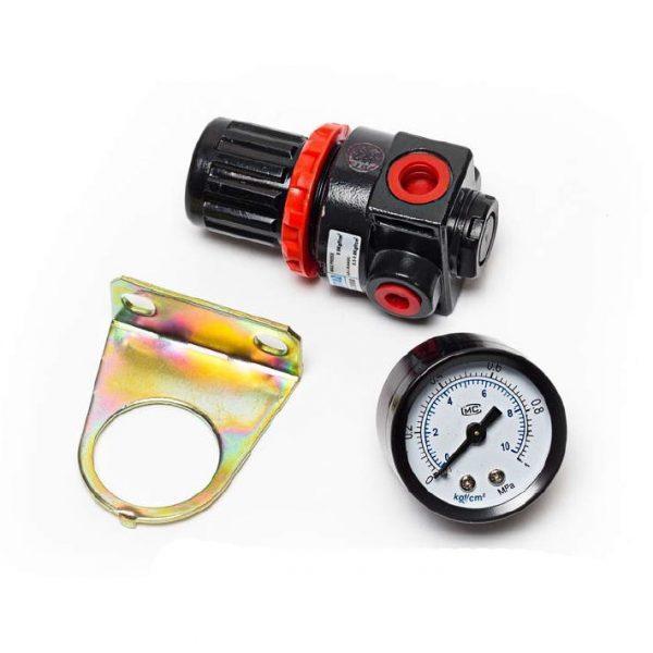 Редуктор (регулятор давления) на компрессор Iron (манометр 1МРа, кронштейн)