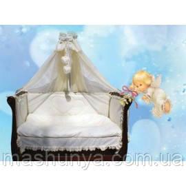 Детский постельный набор в кроватку Трия Анжелика Мини 7 элементов