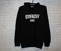 Балахон мужской черный живанши Givenchy Paris теплый худи мужская черная givenchy кофта черная с капюшоном