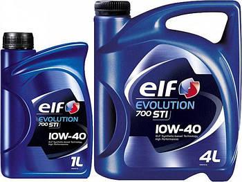Моторное масло Elf EVOL 700 STI 10w40 (Канистра 1л, 4л, 5л, 60л, 208л)