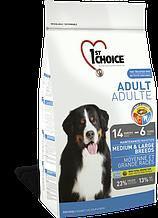 Сухой корм для собак средних и крупных пород с курицей 1st Choice Adult Medium&Large Chicken 15 кг