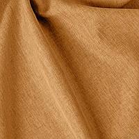 Однотонная ткань грубого плетения золотого цвета Турция