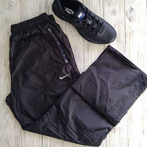 Штаны мужские спортивные Nike чёрный цвет плащёвка