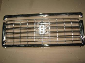 Решетка радиатора ВАЗ 2107 (хром, с молдингом) (пр-во Россия) (арт. 2107-8401014/104)