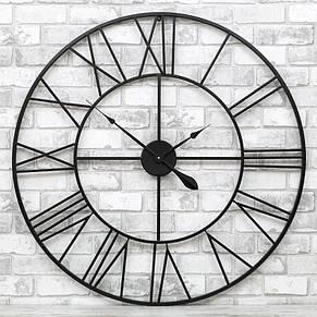 Часы настенные металлические в стиле винтаж Milano 100 см, фото 2
