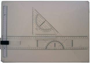 Чертежная доска (кульман) формат А3 с рейсшиной 5013R