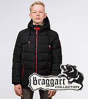 Braggart Kids | Зимняя куртка для мальчика 60455 черная, фото 1