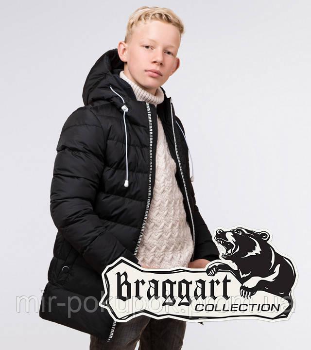 Braggart Kids | Куртка детская зимняя 65028 черная, фото 1