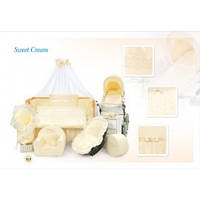 Детский Постельный комплект Tuttolina Sweet Cream