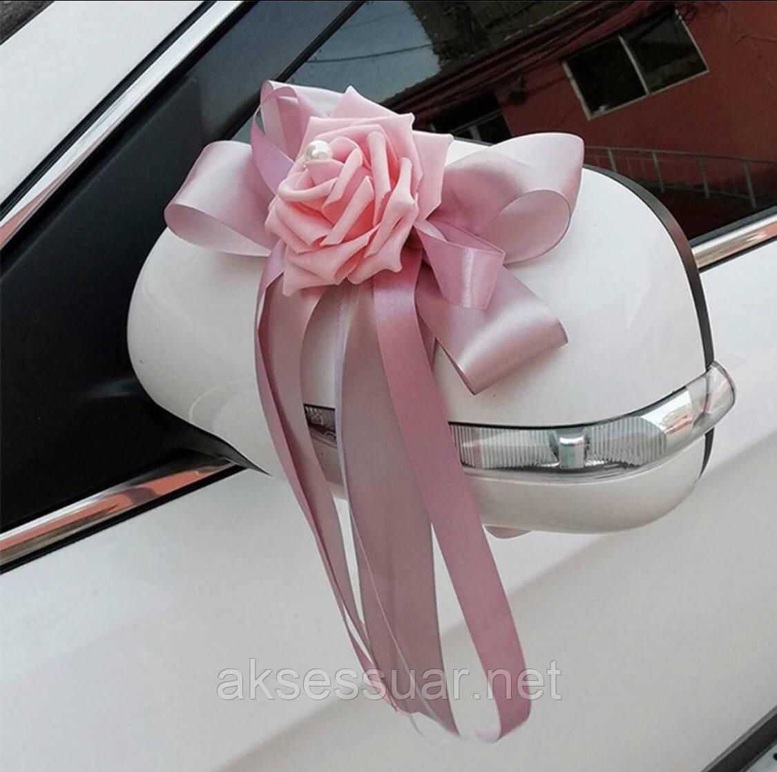 Трояндочки на ручки весільної машини