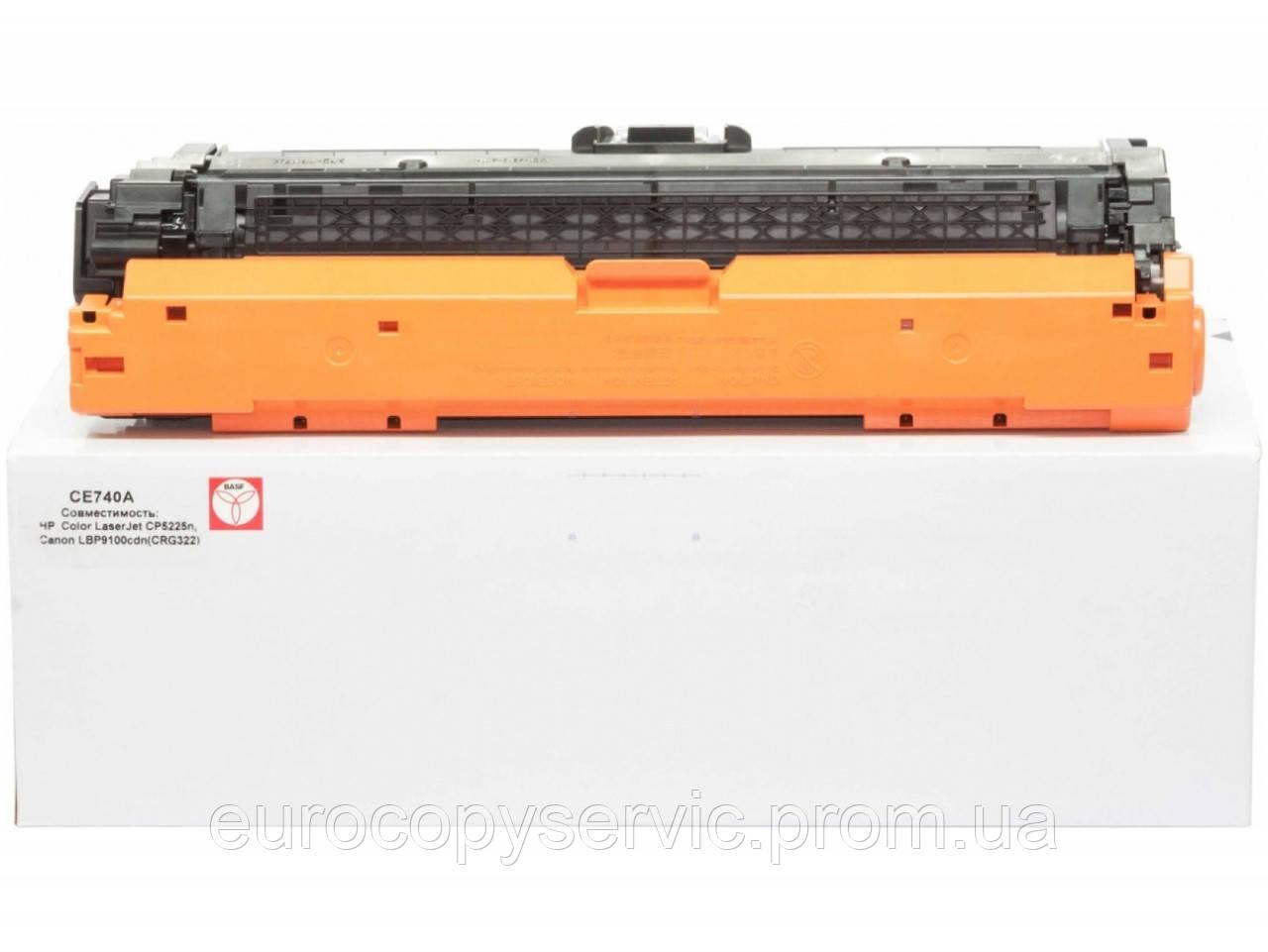 Тонер-картридж BASF для HP CLJ CP5220 / 5225 аналог CE740A Black (BASF-KT-CE740A)