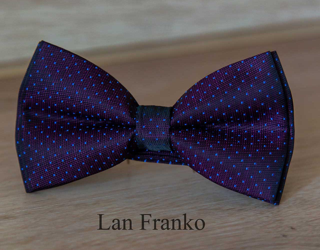 Бабочка мужская с рисунком | LAN FRANKO (Арт.: BVR0302)