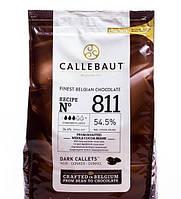 """Шоколад черный """"Callebaut Select"""" 54,5% какао, каллеты, 0.4 кг в оригинальной упаковке"""