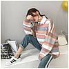 Полосатый стильный свитер 44-50 (в расцветках), фото 2