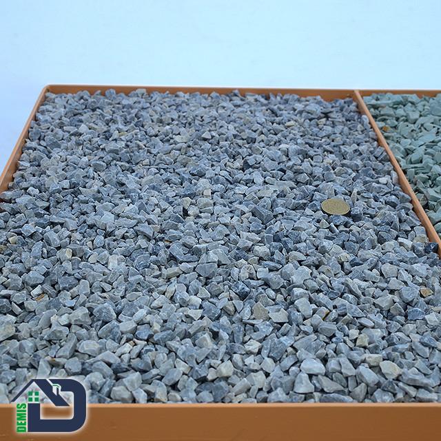 Крихта мармурова декоративна сіро-голуба 3-5, 5-10 мм