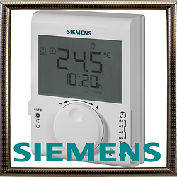 Siemens RDJ100 суточный комнатный термостат