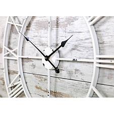 Часы настенные металлические в стиле винтаж  - Milano White 100, фото 3