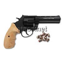 "Револьвер под патрон Флобера Trooper 4,5"" black бук"