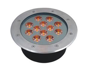 Подводный встраиваемый светильник 12*1W Одноцветный  ip68 Ecolend