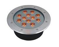 Грунтовый светодиодный светильник 12W Одноцветный