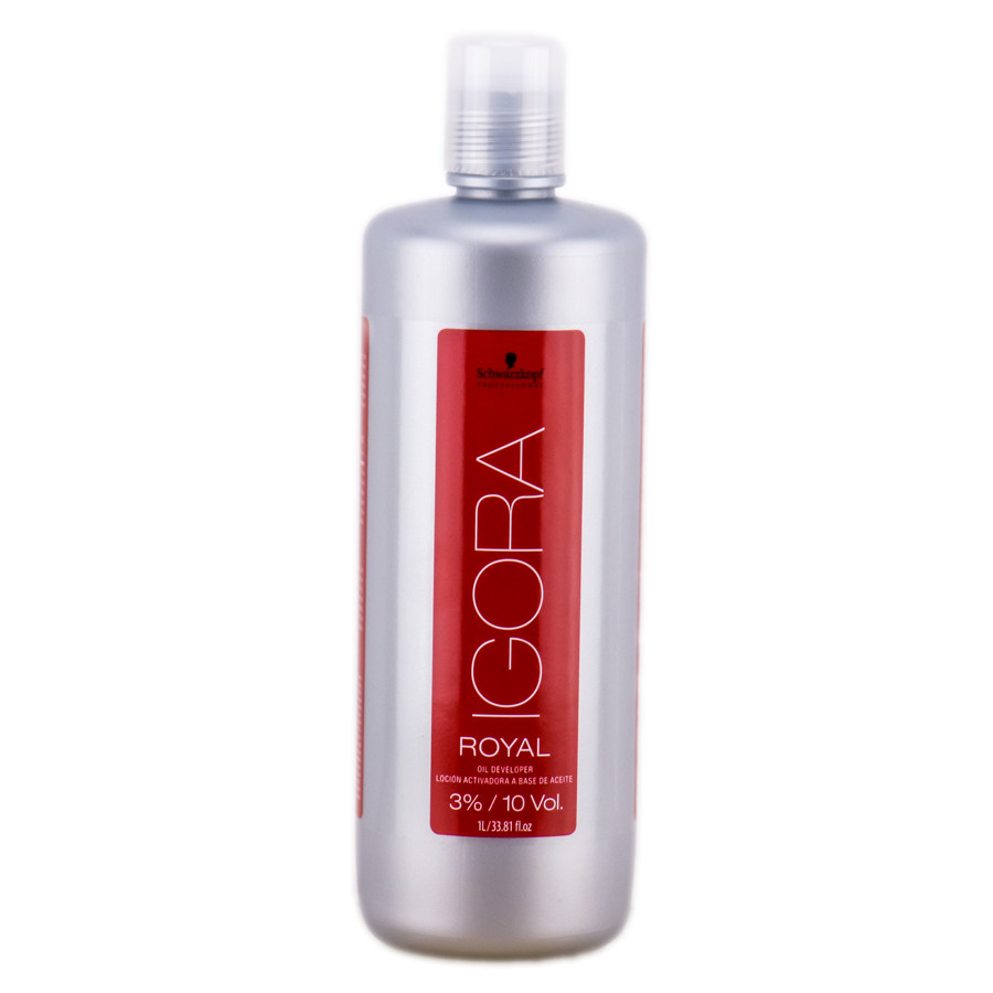 Лосьон-проявитель для краски Schwarzkopf Igora Royal Oil Developer 3%
