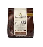 """Шоколад кувертюр молочный """"Callebaut Select"""" 33,6 % какао, каллеты 0.4 кг в оригинальной упаковке"""