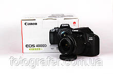Фотоаппарат Canon EOS 4000D kit 18-55 f3.5-5.6 DC III Гарантия от производителя / в магазине