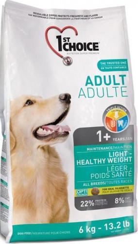 Сухой корм для собак с избыточным весом 1st Choice Adult Light Healthy Weight 6 кг