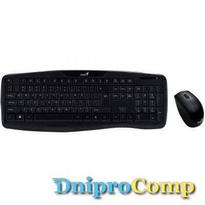 Комплект Genius KB-8000X Black UKR (31340005108)