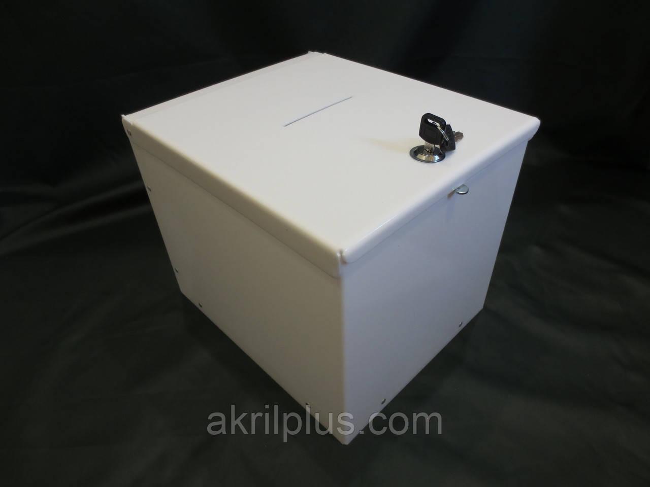 Ящик для пожертвований 350*250*250 белый