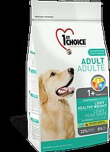 Сухой корм для собак с избыточным весом 1st Choice Adult Light Healthy Weight 12 кг