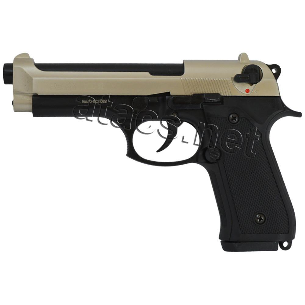 Пистолет стартовый Retay Mod 92 black-satin